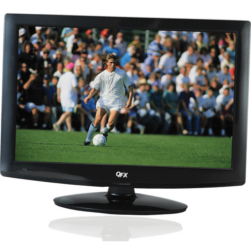 "QFX 18.5"" LED TV with ATSC/NTSC TV Tuner (Black)"