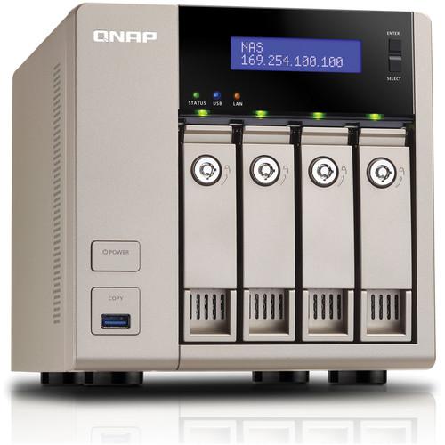 QNAP 16TB (4 x 4TB) TVS-463-8G 4-Bay Golden Cloud Turbo vNAS with Drives