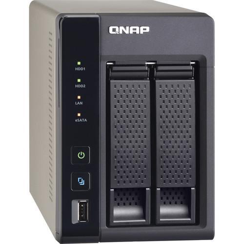 Qnap Ts 269l 2 Bay Turbo Nas Server For Home And Soho B Amp H