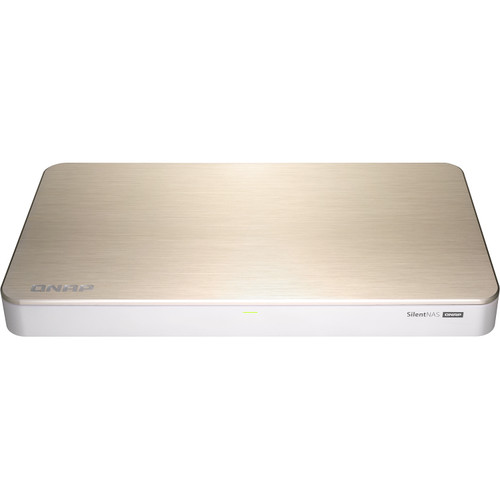 QNAP HS-453DX Fanless 10Gb/s Multimedia NAS Enclosure (4GB)