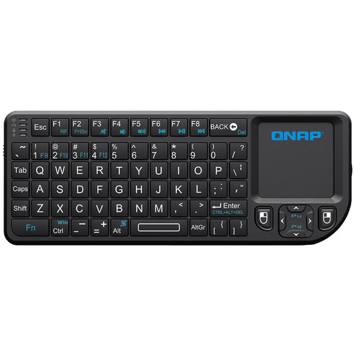 QNAP RF Wireless Mini Keyboard with Touchpad