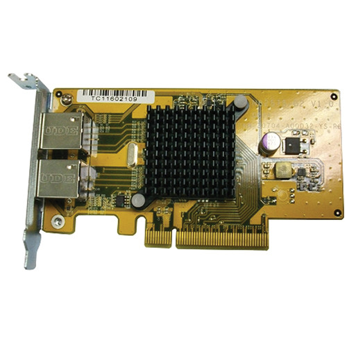QNAP Dual-Port Gigabit Network Expansion Card