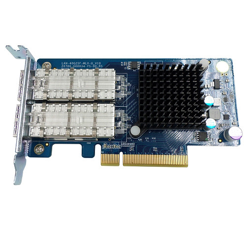 QNAP Dual-Port 40GbE SFP+ Network Expansion Card