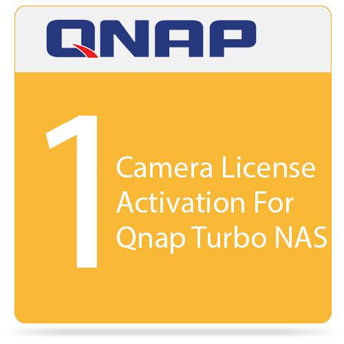 QNAP 1 Camera License Activation For Qnap Turbo NAS