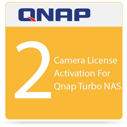 QNAP 2 Camera License Activation For Qnap Turbo NAS