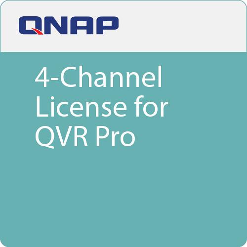 QNAP 4-Channel License for QVR Pro