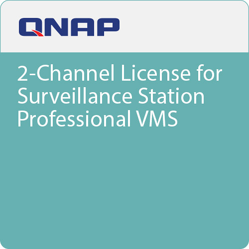 QNAP 2-Channel License for Surveillance Station Professional VMS