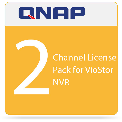 QNAP 2-Channel License Pack for VioStor NVR