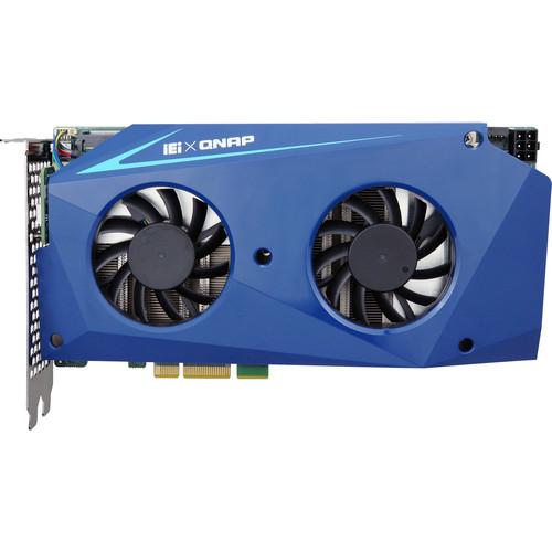 QNAP Computing Accelerator Card Supports Two Intel Core i7-7567U (1TB)