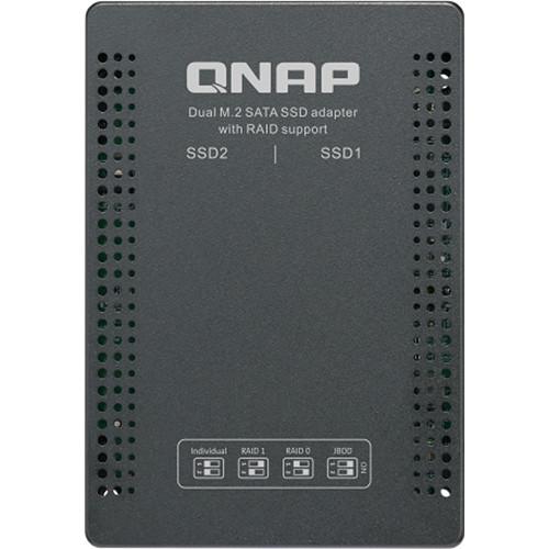 """QNAP M.2 2280 to 2.5"""" SATA Drive Adapter"""