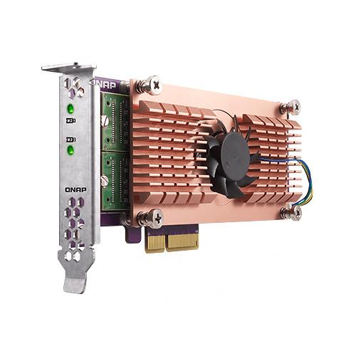 QNAP QM2 M.2 NVMe SSD PCIe Expansion Card