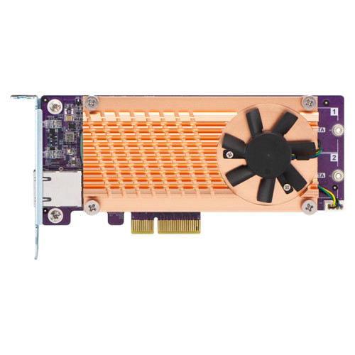 QNAP QM2 M.2 2280 SATA SSD & 10GbE Expansion Card