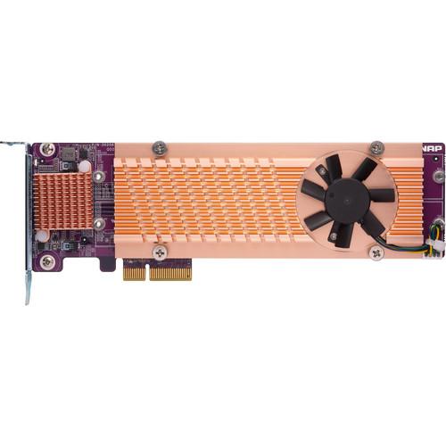 QNAP Quad M.2 2280 PCIe Gen3 x4 NVMe SSD Expansion Card