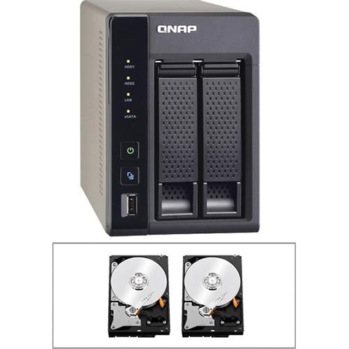 QNAP Qnap TS-269 2-Bay NAS Server Kit (4TB)