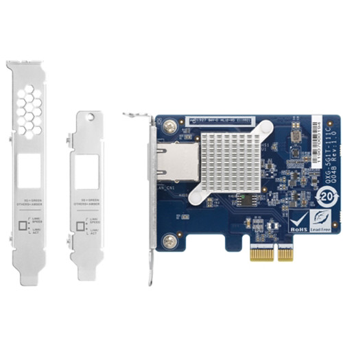 QNAP QXG-5G1T-111C Single-Port 5GbE PCIe Network Expansion Card