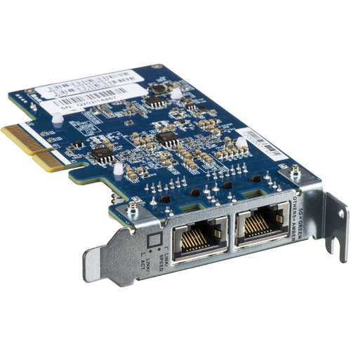 QNAP QXG-5G2T-111C Dual-Port 5GbE PCIe Network Expansion Card