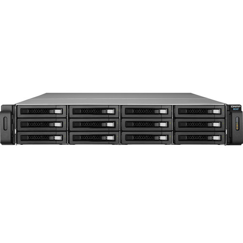 QNAP REXP-1220U-RP-US 12-Bay SAS RAID Expansion Enclosure for QNAP NAS