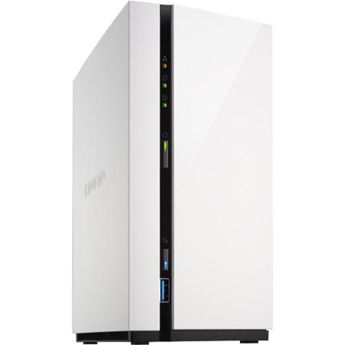 """QNAP TS-128A 2-Bay Nas/ Quad-Core/ 1.4Ghz/ 1GB DDR4 Ram/ 3.5"""" Sata Hdds/ 1x USB3.0/ 2x USB2.0/ 1x GBe Lan"""