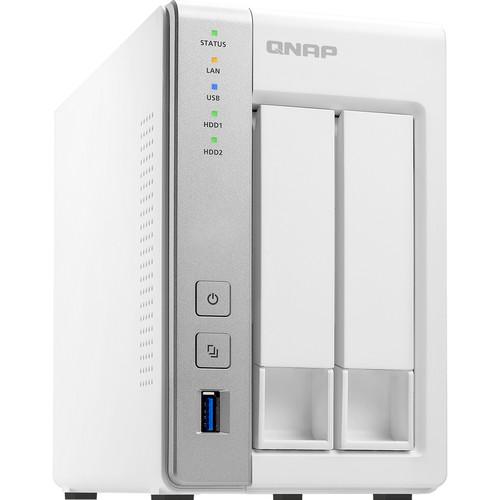 QNAP BUNDLE QNAP TS-231P 2BAY NAS,WITH SEAGATE IW 4TB(2 X 2TB) HDD (ST2000VN004)