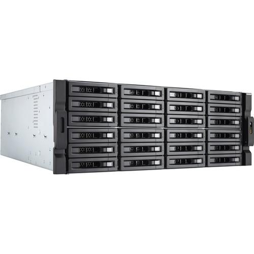 QNAP Qnap 4U 24-Bay 10Gbe Nas And Iscsi Ip-San,  Intel Xeon E-2136 6-Core 3.3 Ghz Processor , 16 Gb Long