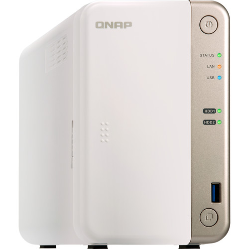 QNAP TS-251B 2-Bay Home and SOHO NAS with PCIe Expansion (4GB)