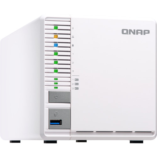 QNAP TS-332X 3-Bay 64-Bit NAS with Built-In 10G Network (4GB)