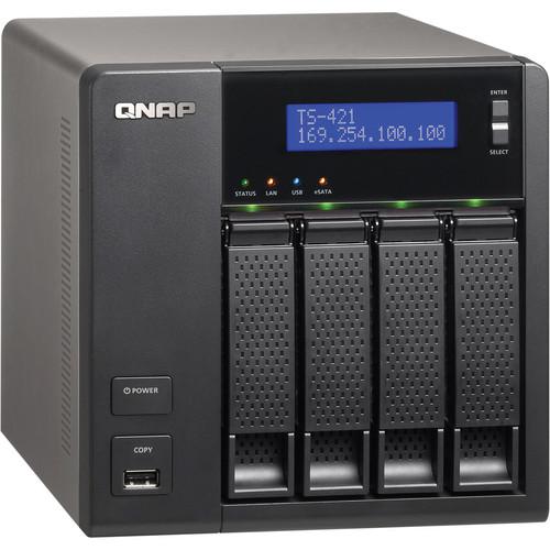 QNAP TS-421 4-Bay NAS Server