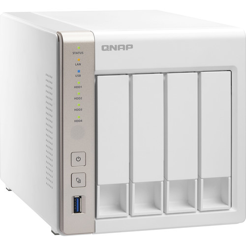 QNAP TS-451 8TB (4 x 2TB) 4-Bay NAS Server Kit with WD Red Drives