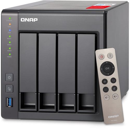 QNAP TS-451+ 8TB (4 x 2TB) Four-Bay NAS Server Kit with Seagate NAS Drives