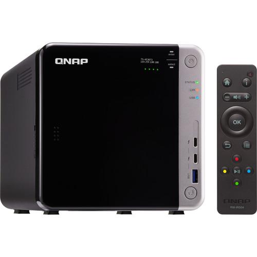 QNAP TS453 4-Bay Thunderbolt 3 Nas/ Celeron Apollo Lake J3455 Quad-Core Cpu/ 8GB/ 4 X 10TB