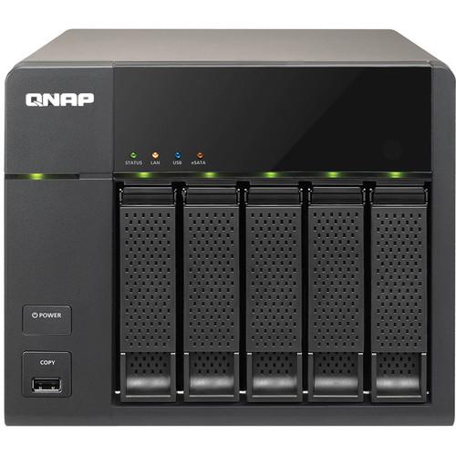 QNAP TS-569L 5-Bay Turbo NAS Server for SMBs