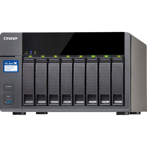 QNAP TS-831X 8-Bay NAS Enclosure