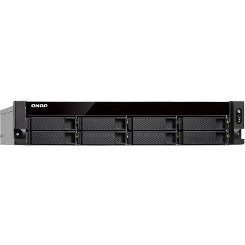 QNAP 2U 8-Bay Nas Quad Core 1.7Ghz, 4GB DDR3 Ram Redundant Power Supply