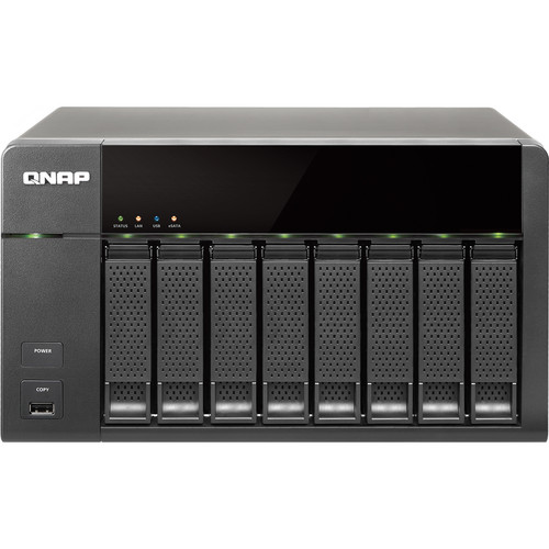 QNAP TS-869L 8-Bay NAS Server for SMBs