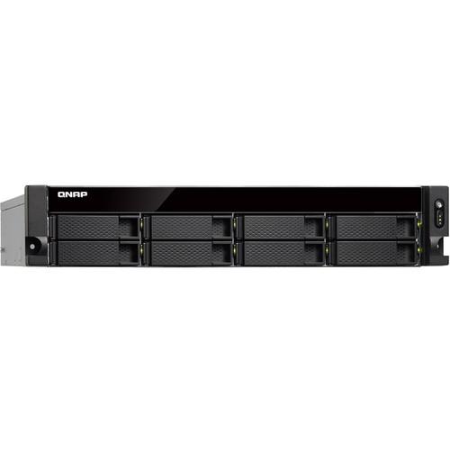 QNAP TS-873BU 2U 4-Bay Nas/ iSCSI/ IP-SAN/ Quad-Core 2.1Ghz/ 4GB Ram/ 10GBe-Ready/ 1 Psu