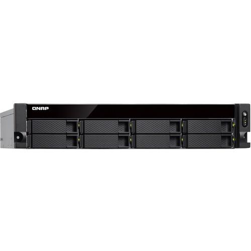 QNAP TS-877XU 2U 8-Bay Rackmount NAS/iSCSI IP-SAN with Redundant Power Supply (4GB)