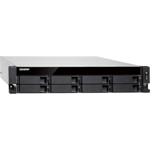 QNAP Qnap 2U 8-Bay 10Gbe Nas And Iscsi Ip-San,  Intel Xeon E-2124 4-Core 3.3 Ghz Processor , 8 Gb Long Di