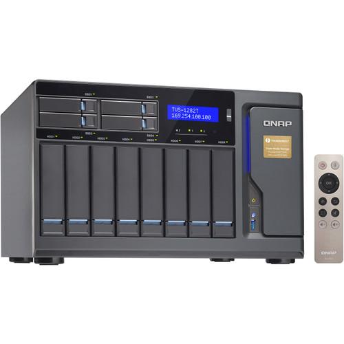 QNAP TVS-1282T3 80TB 12-Bay NAS Array (8 x 10TB)