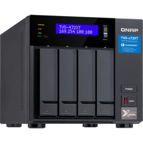 QNAP TVS-472XT 4-Bay NAS Enclosure