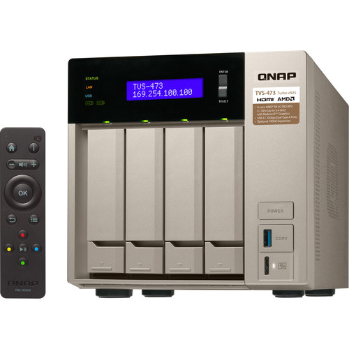 QNAP TVS-473 Four-Bay NAS Enclosure