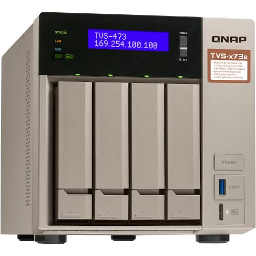 QNAP TVS-473E-8G 4-Bay NAS Server