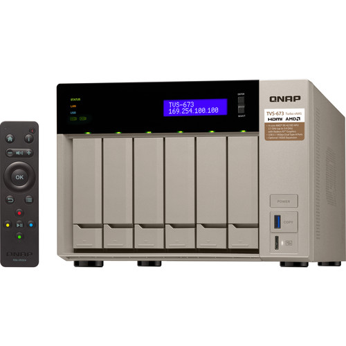 QNAP TVS-673 Six-Bay NAS Enclosure