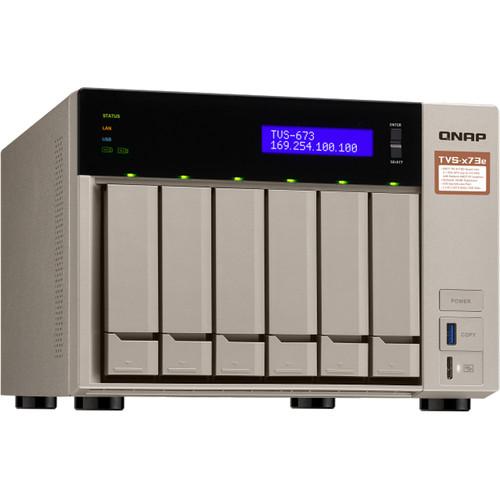 QNAP TVS-673E-8G 6-Bay NAS Server