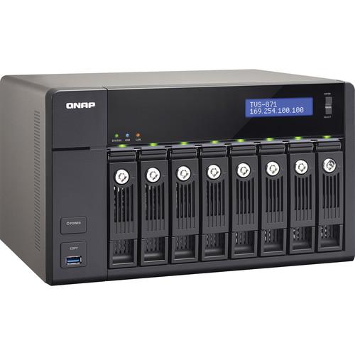 QNAP TVS-871-I3-4G 8-Bay Turbo vNAS