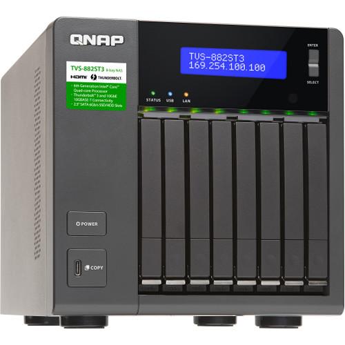 QNAP TVS-882ST3 8-Bay NAS Enclosure