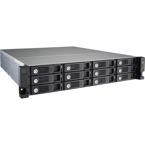 QNAP UX-1200U-RP 12-Bay RAID Expansion Enclosure