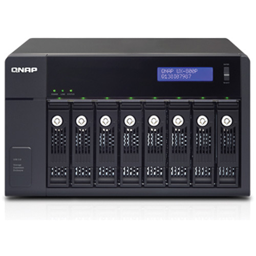 QNAP 8-Bay USB 3.0/SATA 6Gb/s RAID Expansion Enclosure for Turbo NAS