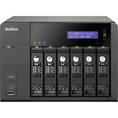 QNAP VS-6112 Pro+ 12-Channel VioStor Tower NVR