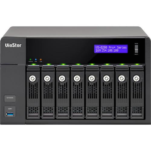 QNAP VioStor VS-8240-PRO+ 40-Channel 8-Bay Network Video Recorder (No HDD)
