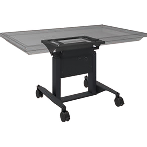 QOMO Motorized Height-Adjustable Tilt & Touch Mobile Stand for Interactive Flat Panels